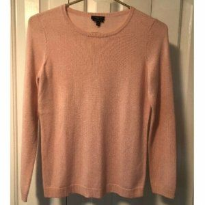 Talbots Baby Pink Pure 100% Cashmere Sweater
